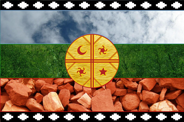 bandera mapuche significado de los colores
