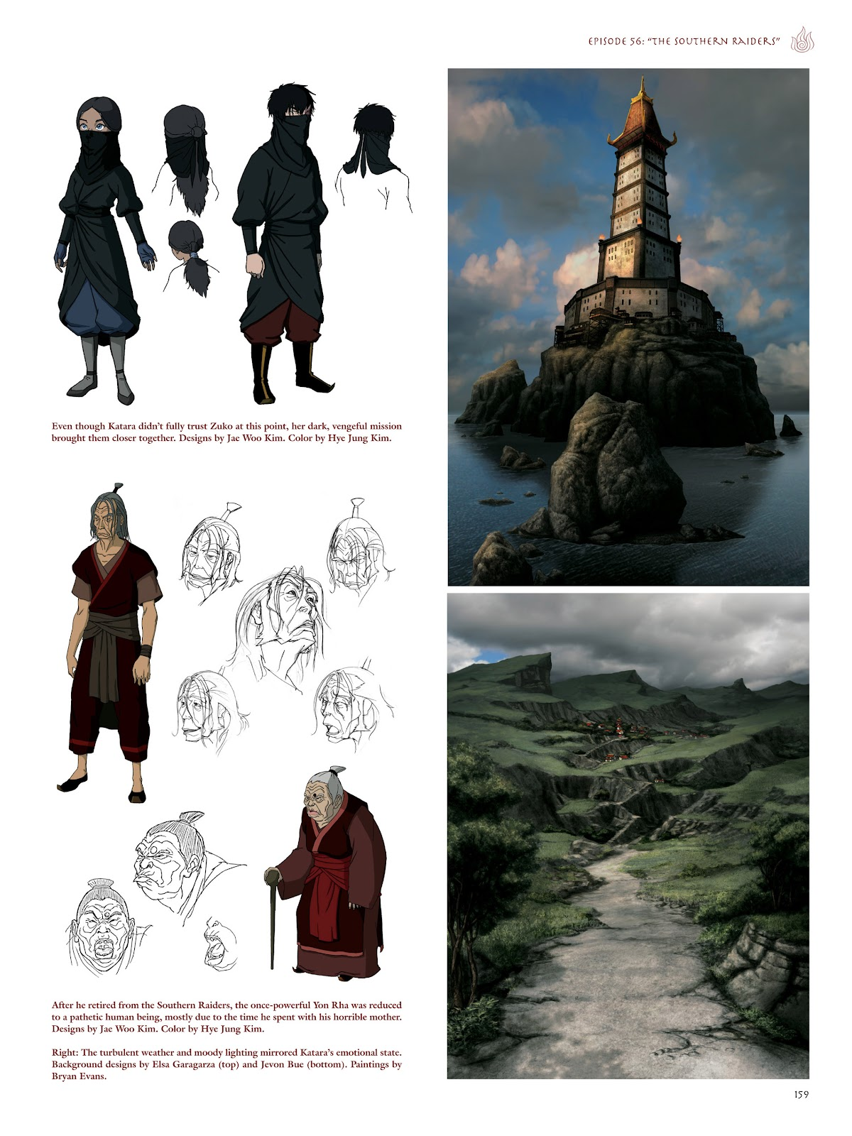 Read online Avatar: The Last Airbender - The Art of the Animated Series comic -  Issue # TPB (Part 2) - 56
