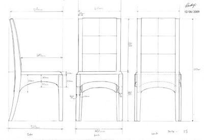 Dining Chair Plans PDF Woodworking