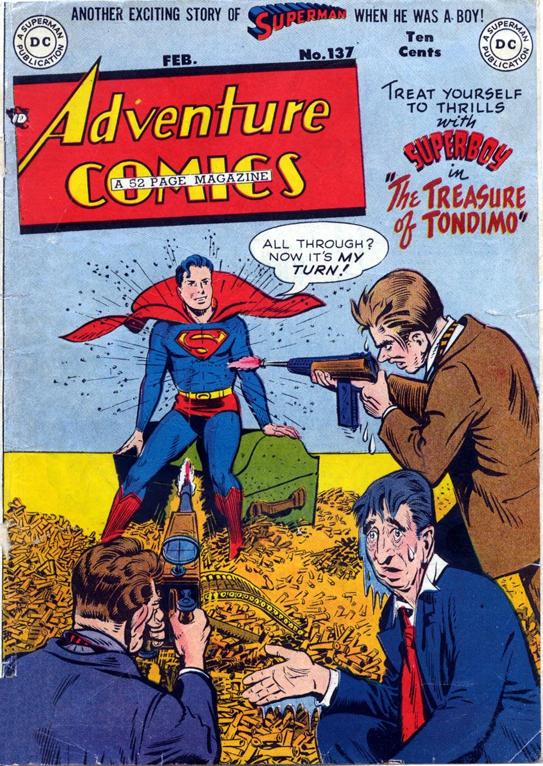 Read online Adventure Comics (1938) comic -  Issue #137 - 1