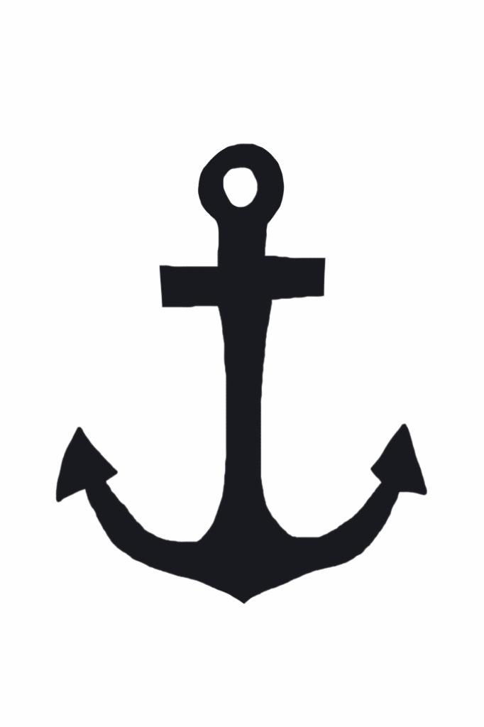 Creth Davis: Drawing: Anchor (iPhone