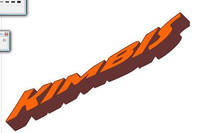Corel Draw X 4 Tutorials: Easy 3D text in coreldraw x4