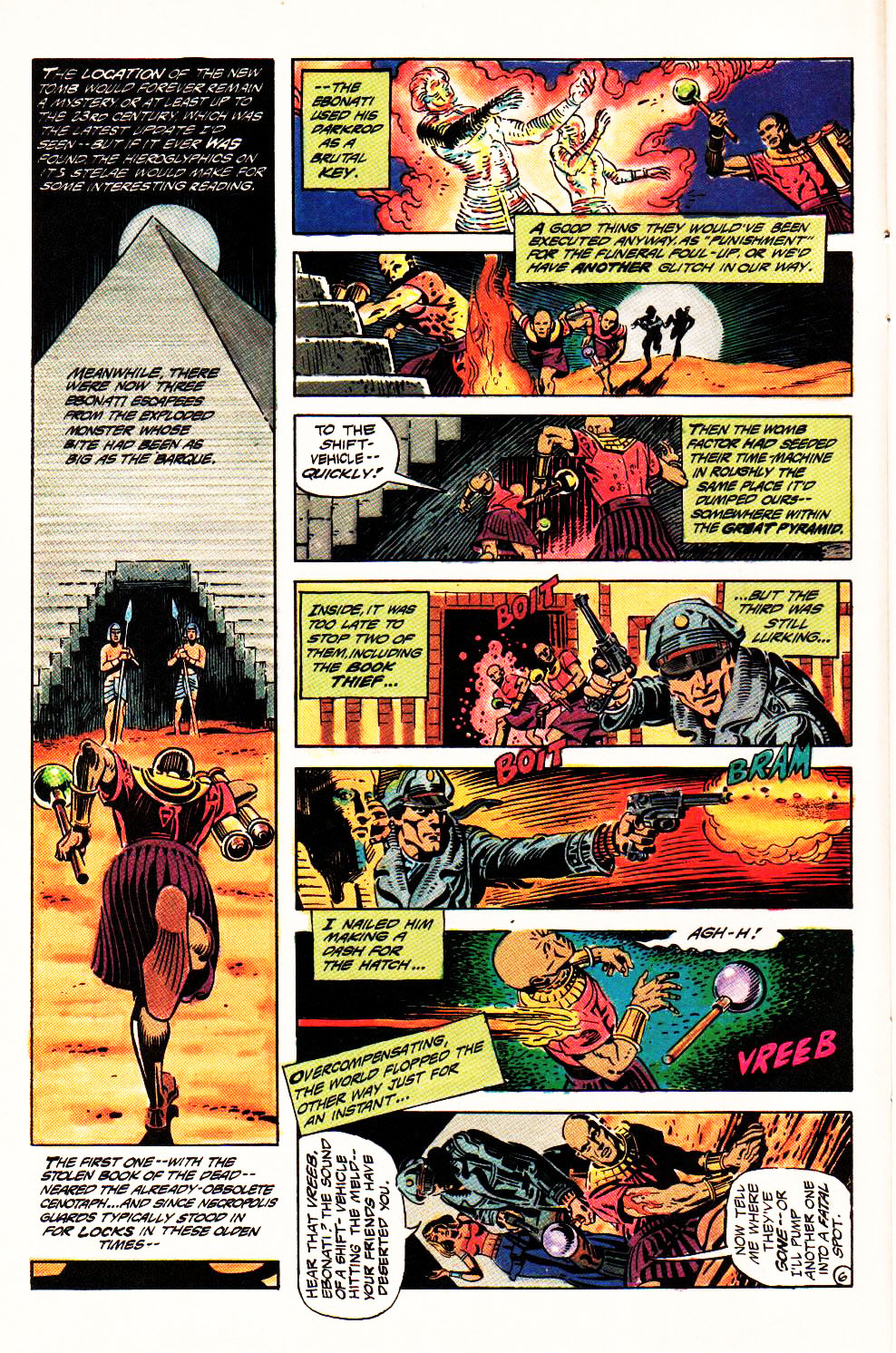 Read online Aztec Ace comic -  Issue #4 - 9