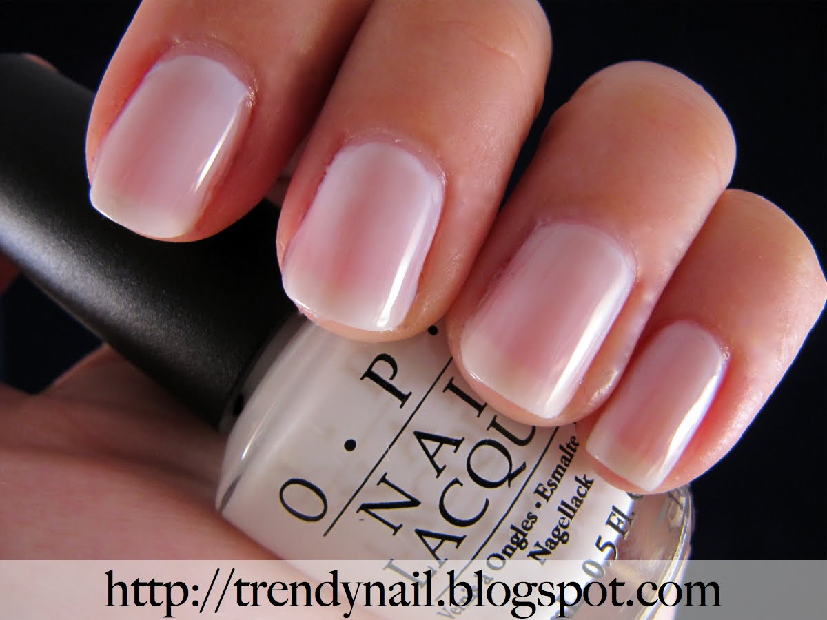 Opi Funny Bunny Unghie Soffici In Bianco Trendy Nail