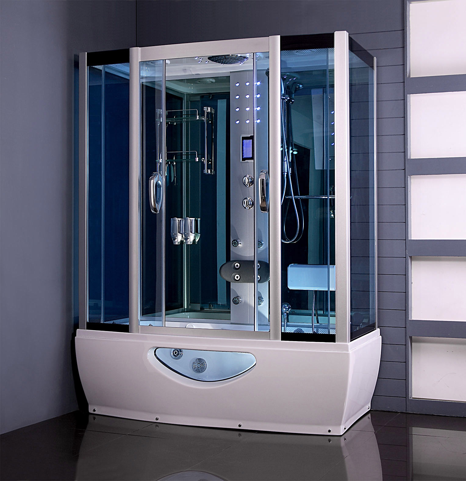 SteamShowers: Know about Steam Showers and Disabled Bathrooms