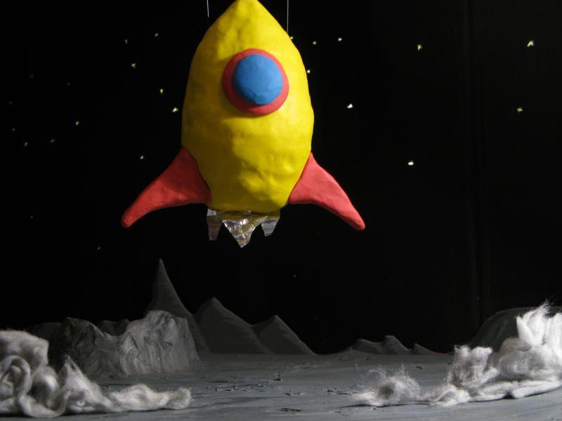 rocket landing on moon - photo #22
