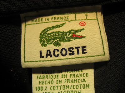 720a056e La Chemise Lacoste - 1953 - 1983 - 1996. Lacoste made in France ...