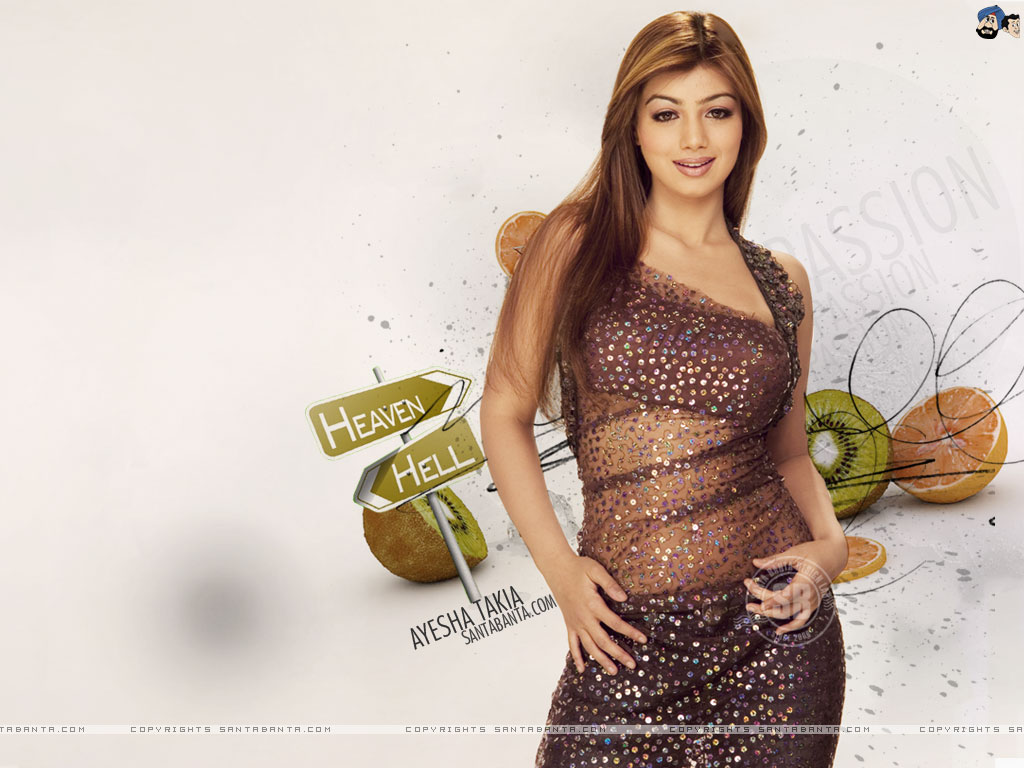 Ayesha Takia Indian Actress Sexy Pretty - Bolly Actress -8332
