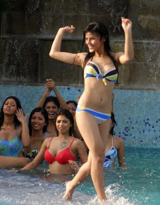 Indian Fashion Model in Bikini Photos
