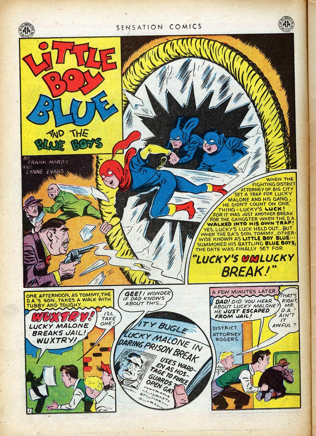 Read online Sensation (Mystery) Comics comic -  Issue #40 - 20