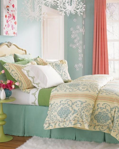 green bedroom throughout beautiful | Heartfire At Home - Connecting Heart, Home and LIFE!: A ...