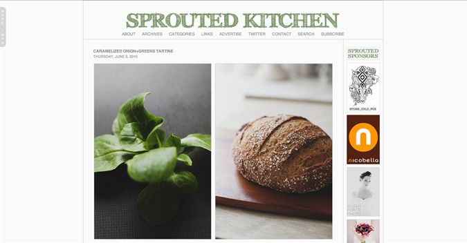 Sprouted Kitchen Another Recent Find Already Enchanted