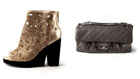 3c8356767e57 official launch of the collection  Chanel shoes and handbags preview ...