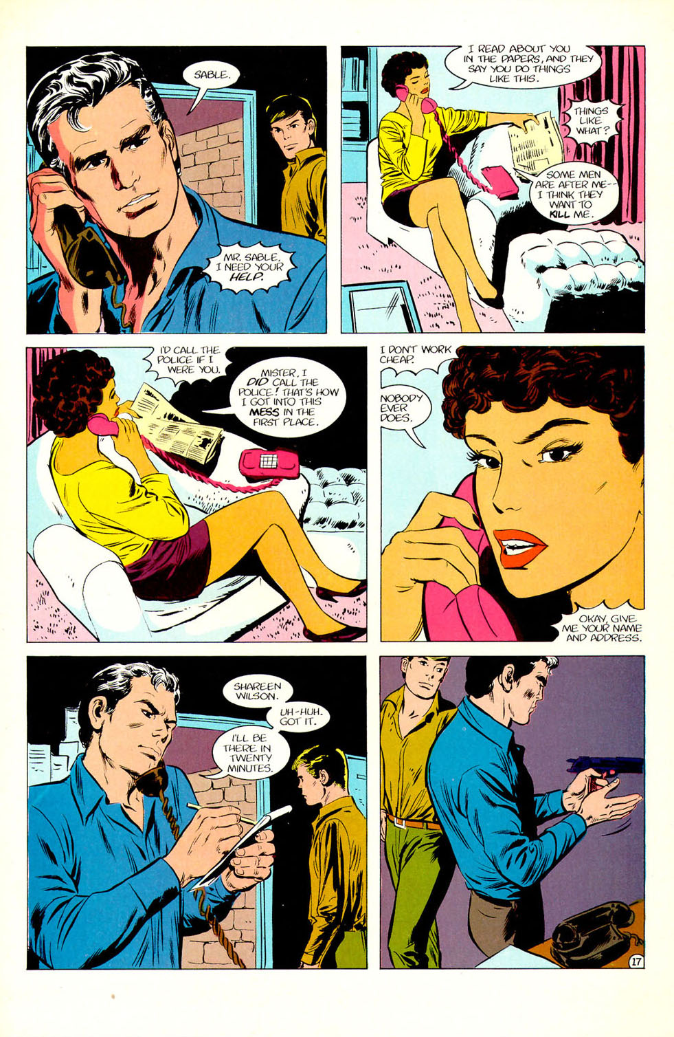 Jon Sable, Freelance issue 51 - Page 19