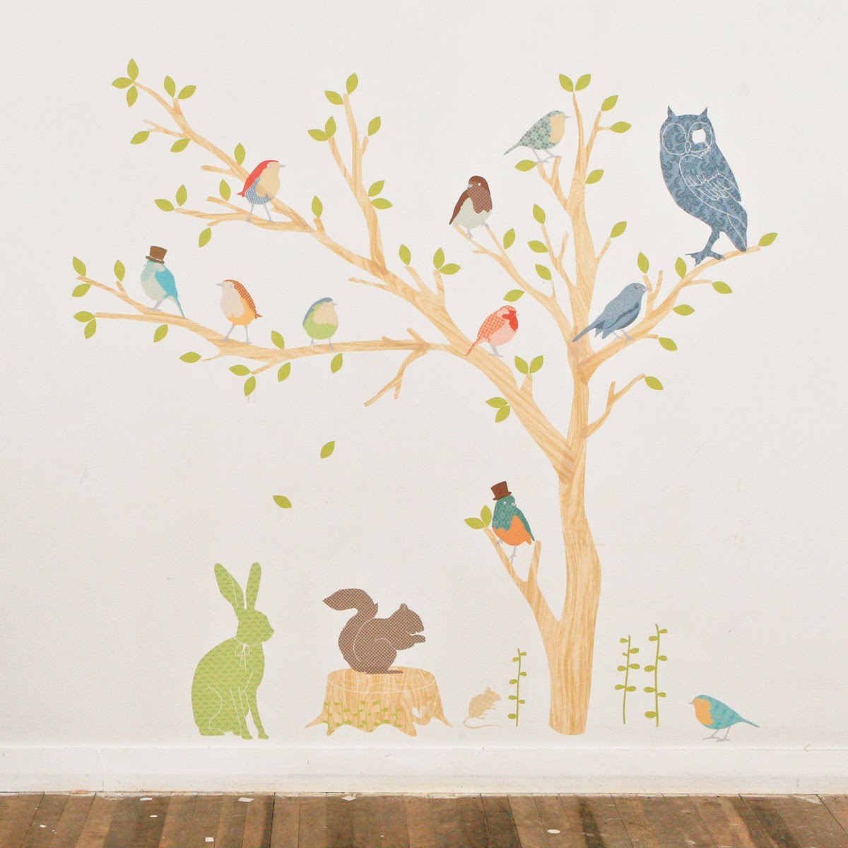 wall stickers tree 2017 - Grasscloth Wallpaper