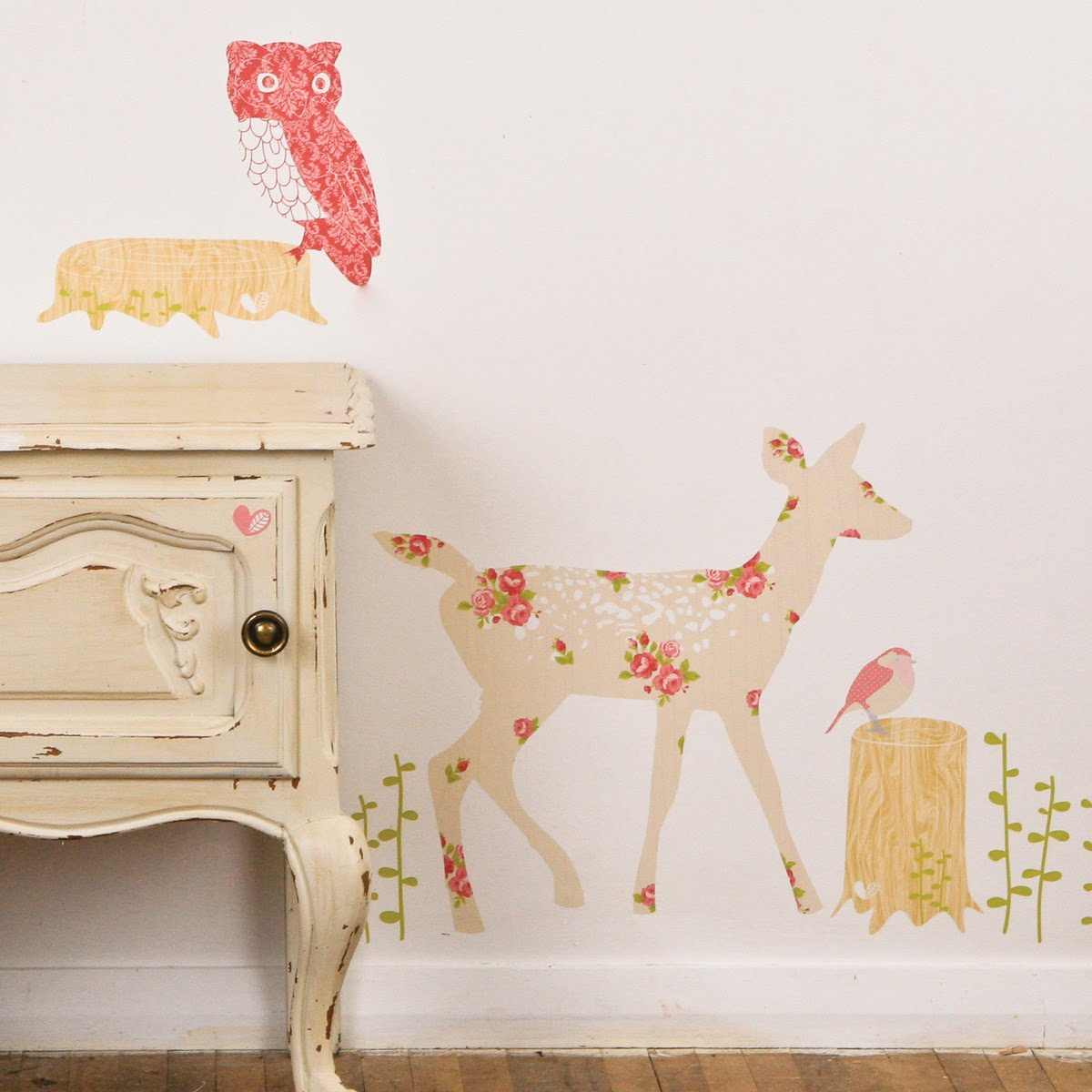 Mae Wall Stickers Decal8 Designer Interior Wall Stickers Fabric Build A
