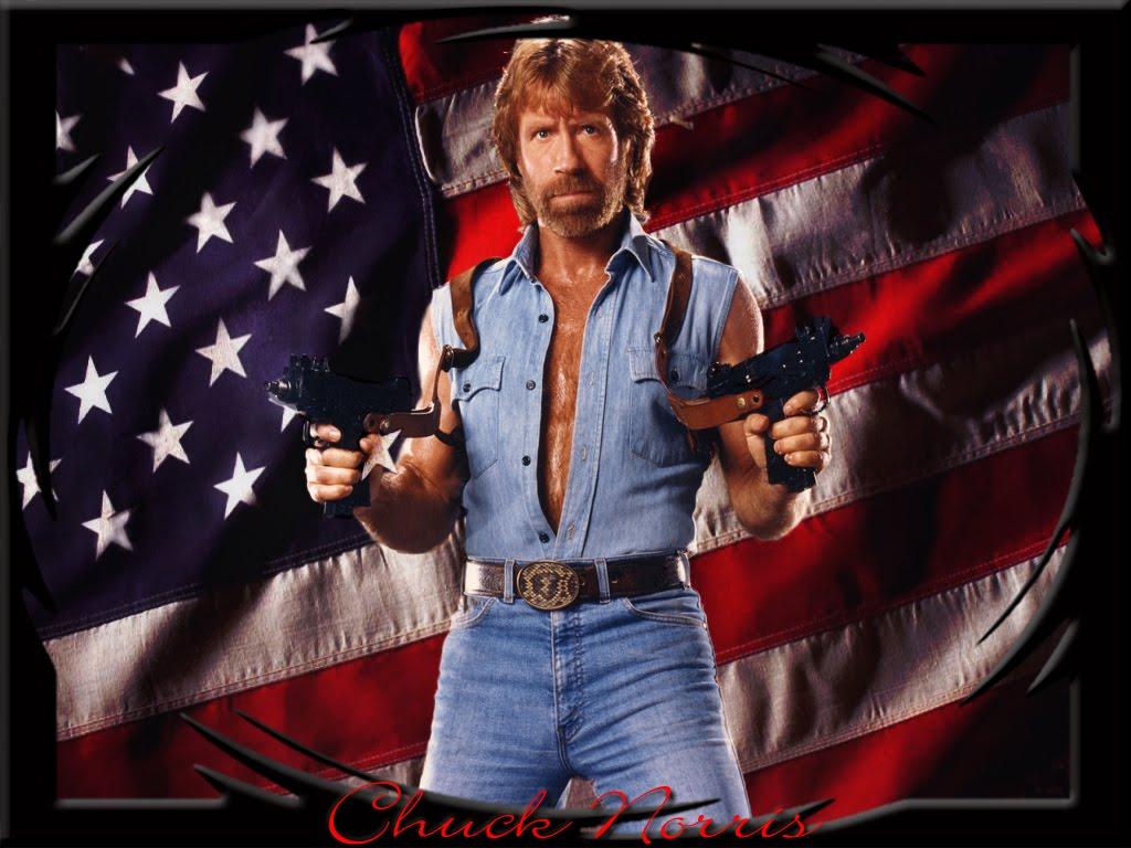 Chuck le echó un pulso una vez a Dios Desde entonces los Papas bendicen con  la mano izquierda... 2. Chuck Norris va a 1000000 km s cuando esta quieto. 1f2f5660ec8