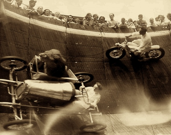 ~Spirits Of The Old~: Talented Tuesday~Wall Of Death Rider