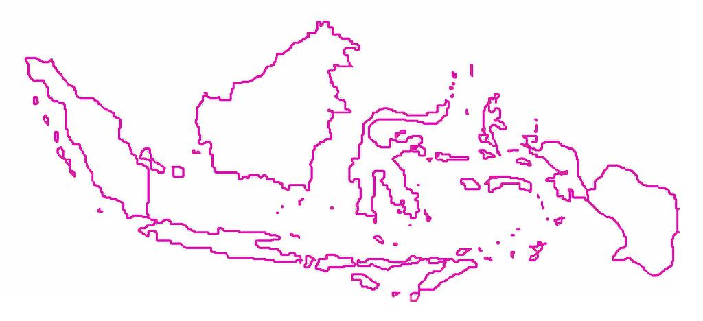 Gambar hitam dan putih kepala gambar sketsa peta satu warna. Gambar Peta Indonesia Tanpa Warna