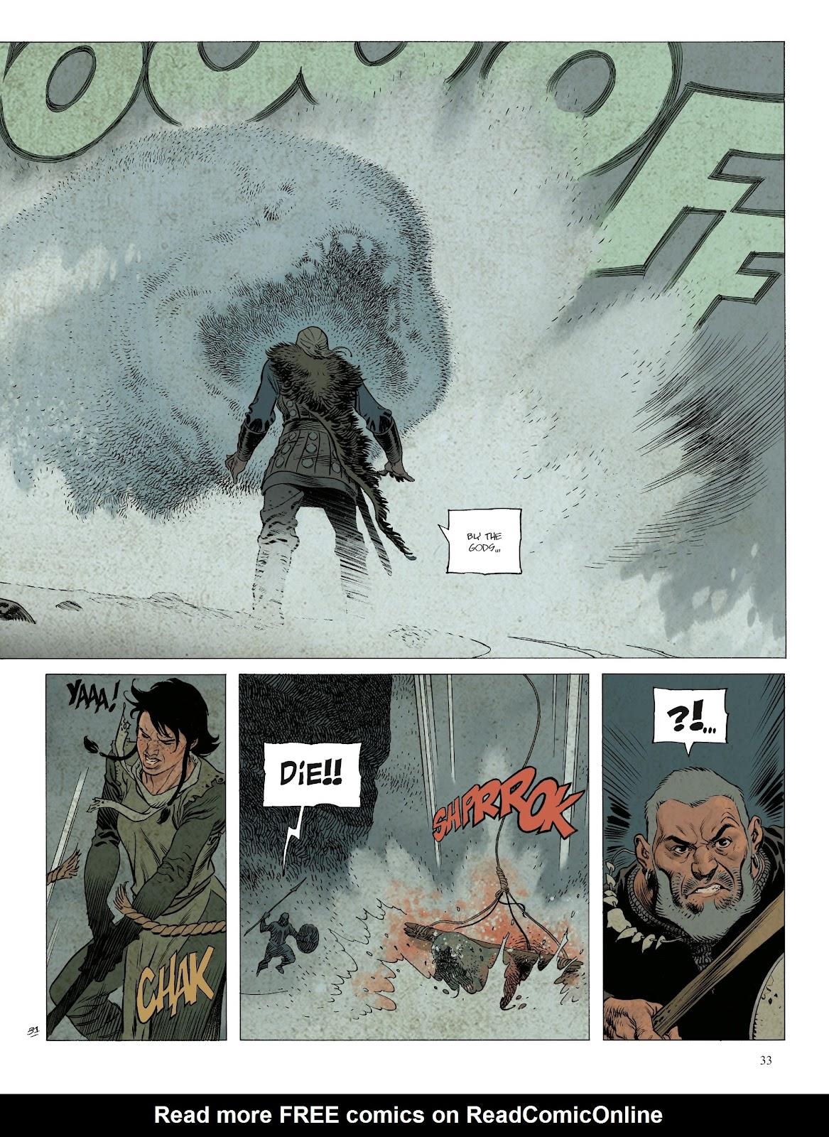 Read online Asgard comic -  Issue #1 - 35