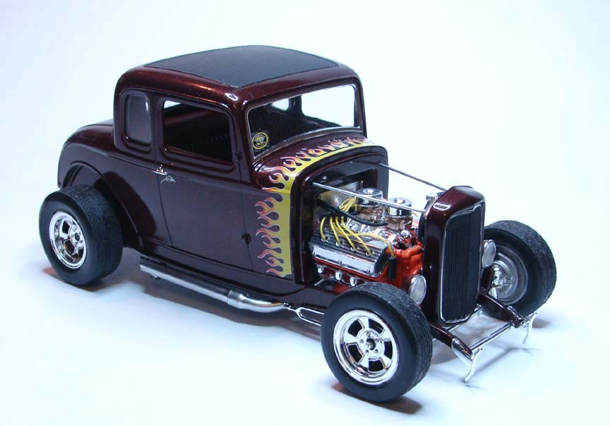 Model Cars 1932 Ford 5 Window Coupe High Boy Hot Rod