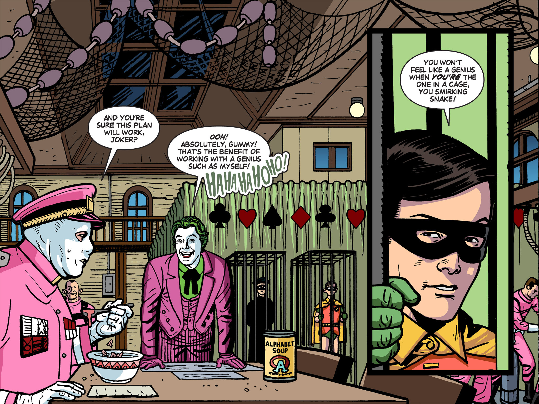Read online Batman '66 Meets the Green Hornet [II] comic -  Issue #5 - 84