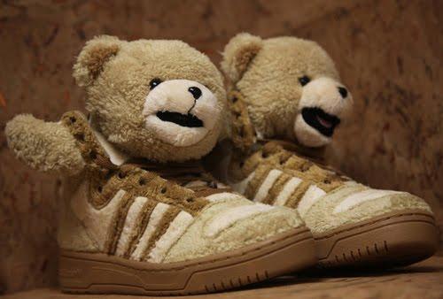premium selection 2d83b a86b5 jeremy scott adidas teddy bear