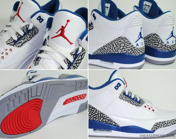 TRS Blog  Air Jordan III –  True Blue  2011 Retro  7a93e67b8