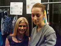 Marla Malcolm Beck and Tibi Model