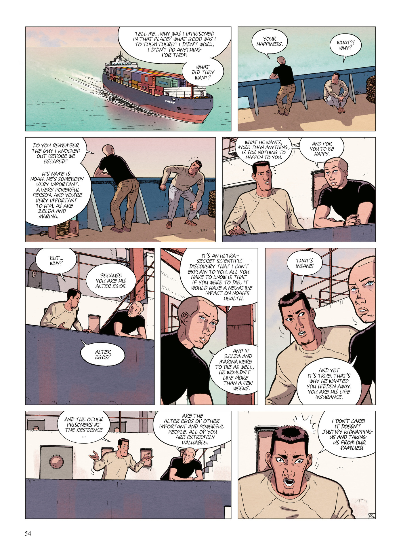 Read online Alter Ego comic -  Issue #5 - 56