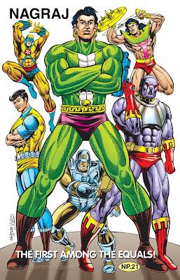 Raj comics heroes posters and images - Neeshu com