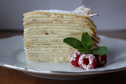 Layered Crepe Cake Recipes: Dutch Oven Madness!: Day 218: Crepe Cake With Raspberry