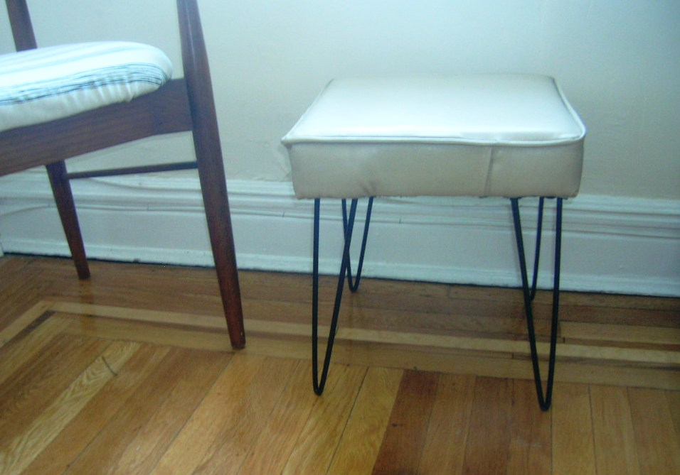 Killed By Crafts Customized Hairpin Leg Ottoman