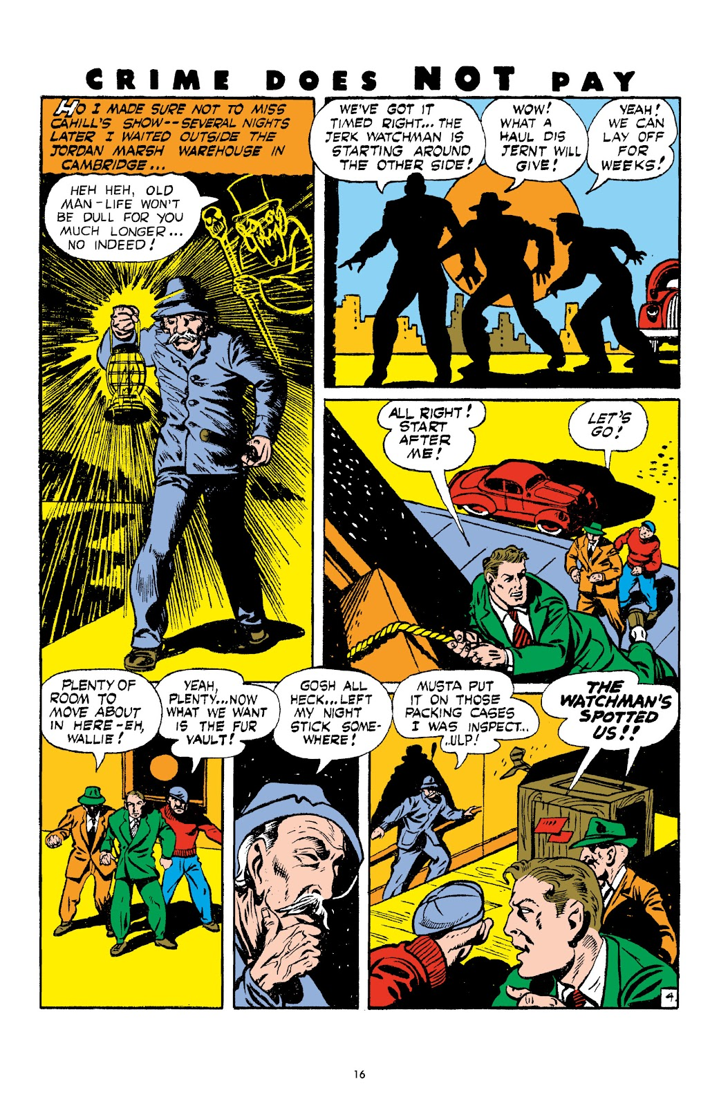 Read online Crime Does Not Pay Archives comic -  Issue # TPB 4 (Part 1) - 16