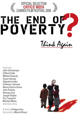 the end of poverty, movie, film, poster,cinema libre