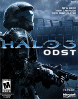 halo 3, ODST, video, game, cover, poster, image, review