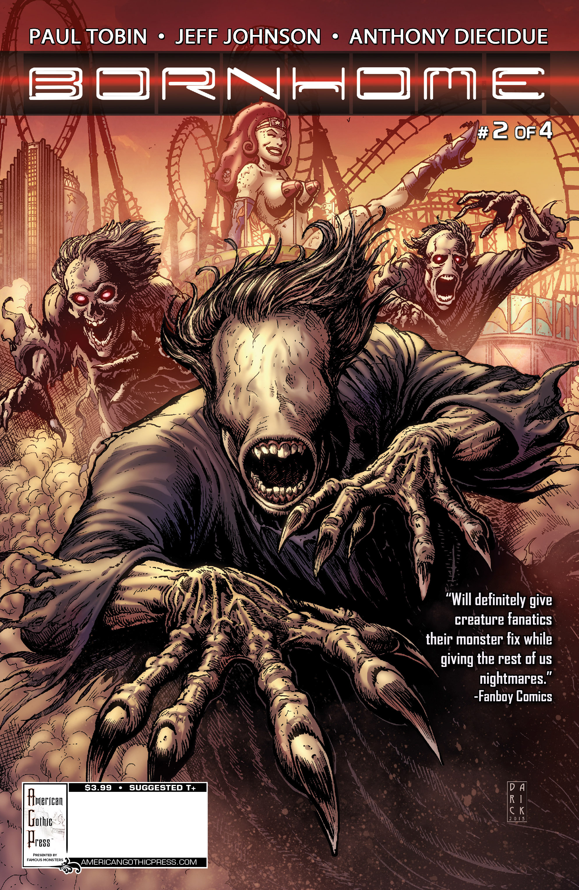 Read online Famous Monsters Presents: Bornhome comic -  Issue #2 - 2