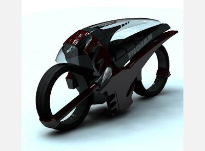 Speed Racer Alien Motorcycle