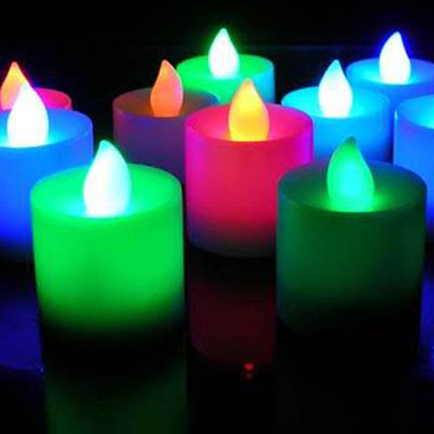 love home candele colorate