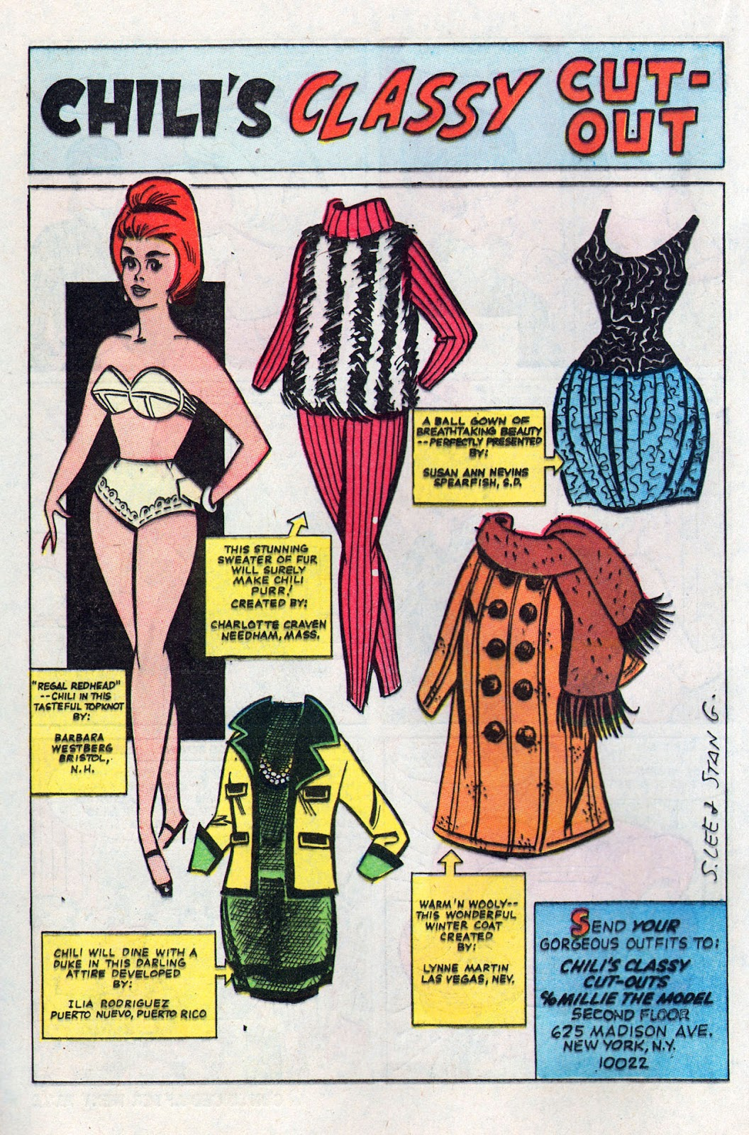 Read online Millie the Model comic -  Issue # Annual 6 - 48