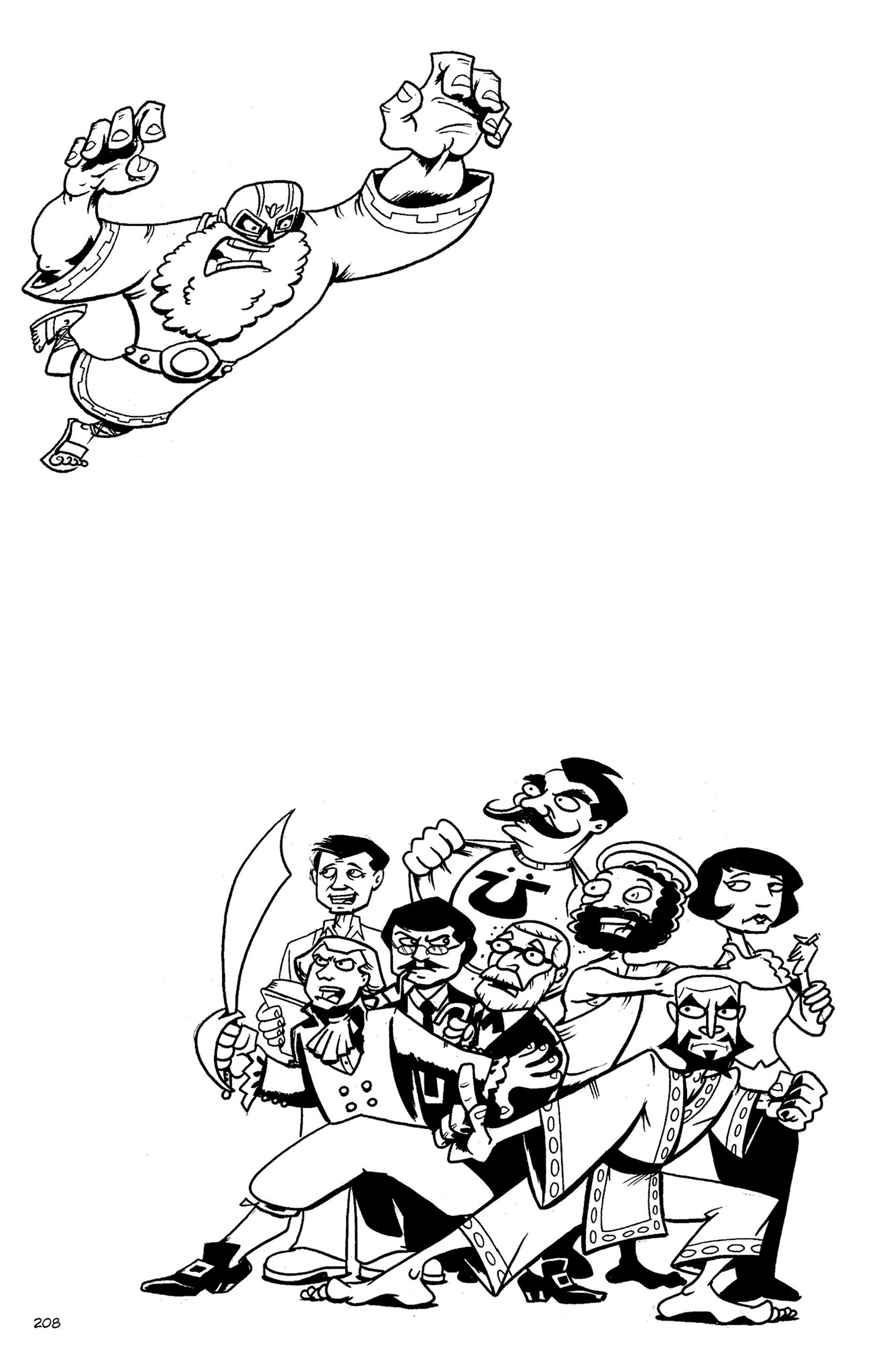 Read online Action Philosophers! comic -  Issue #Action Philosophers! TPB (Part 2) - 36