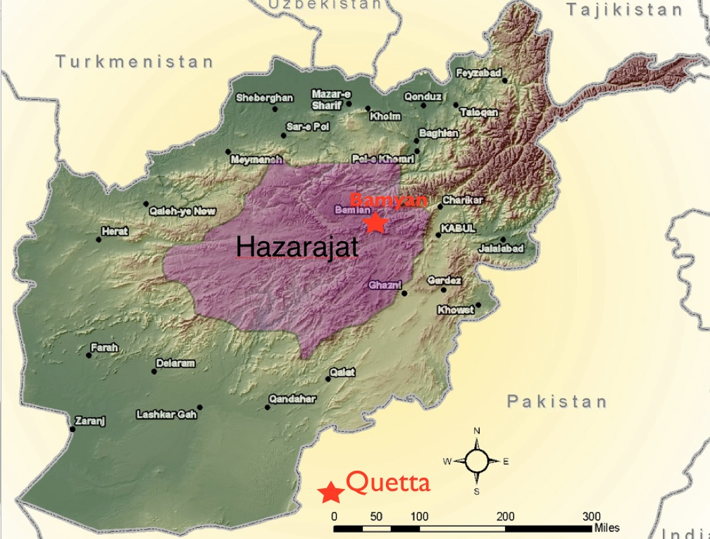Afghanistan S Hazaras Fears And Hopes Geocurrents