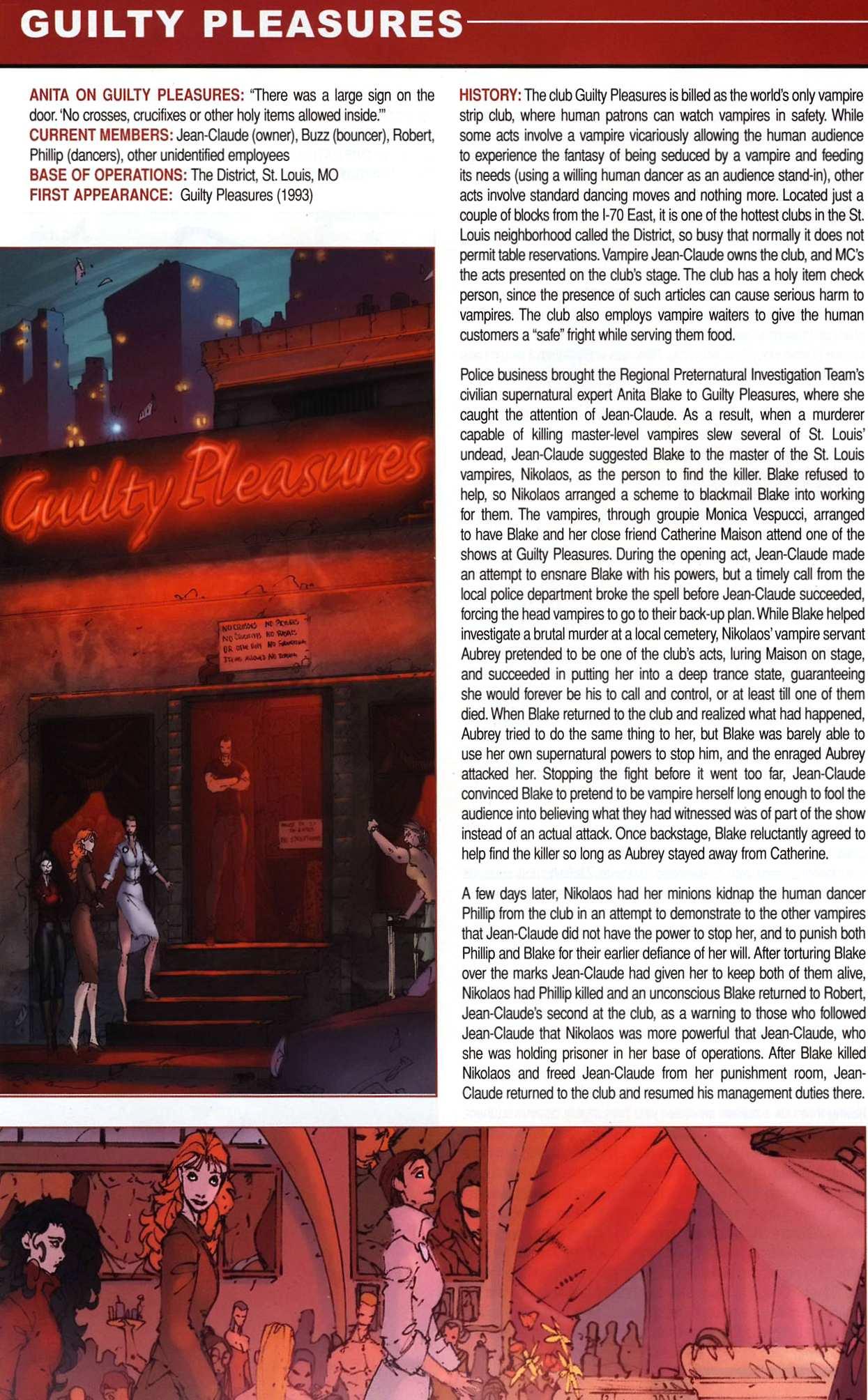 Read online Anita Blake, Vampire Hunter: Guilty Pleasures Handbook comic -  Issue #Anita Blake, Vampire Hunter: Guilty Pleasures Handbook Full - 18