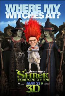 Shrek 4 il était une fin Affiche