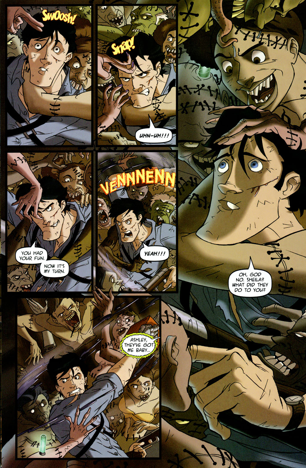 Read online Army of Darkness vs. Re-Animator comic -  Issue #4 - 16