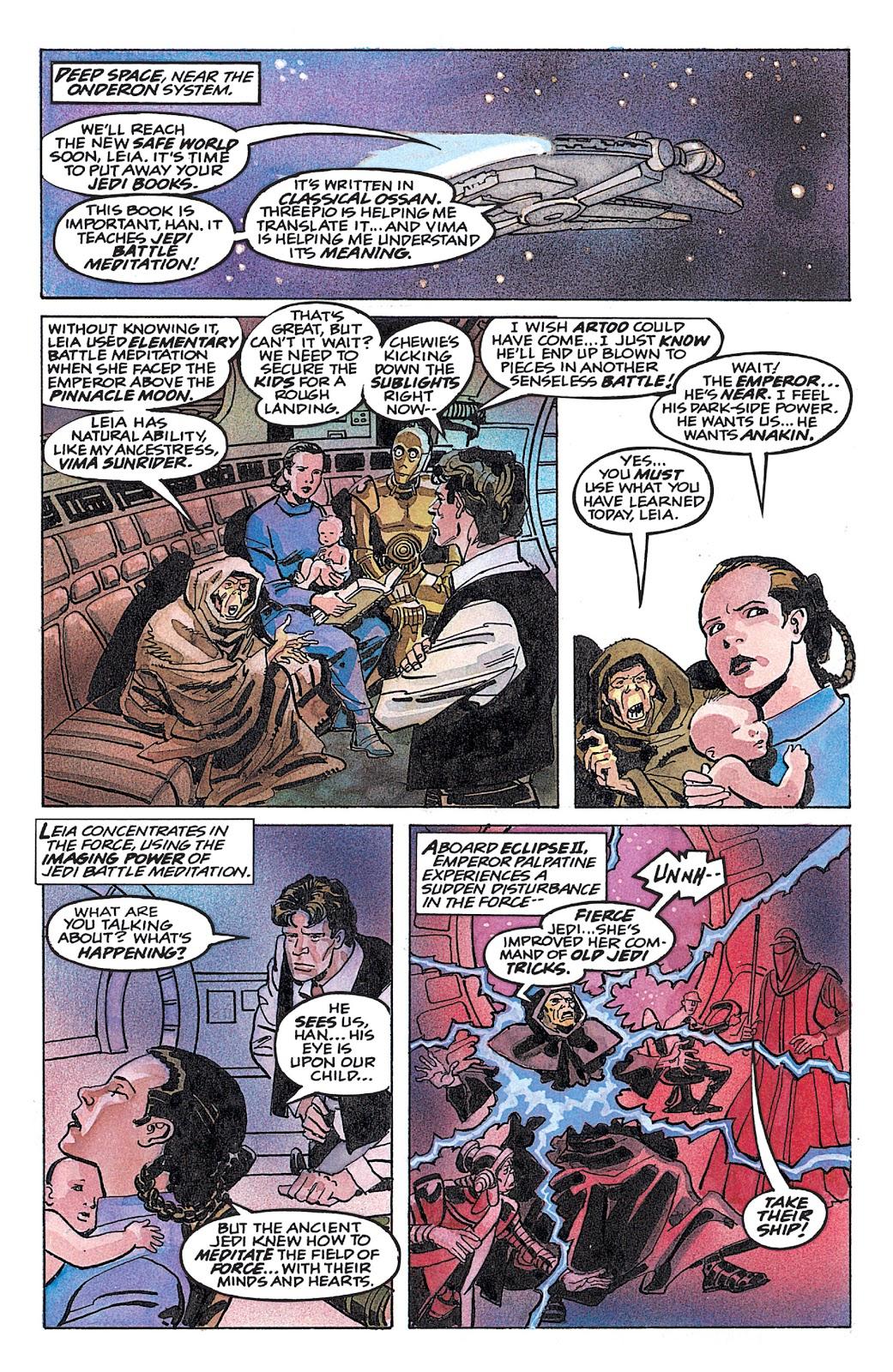 Read online Star Wars: Dark Empire Trilogy comic -  Issue # TPB (Part 4) - 37