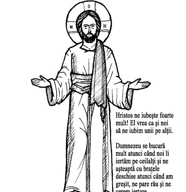 Hristos împărtăşit copiilor: Duminica Iertării, activităţi