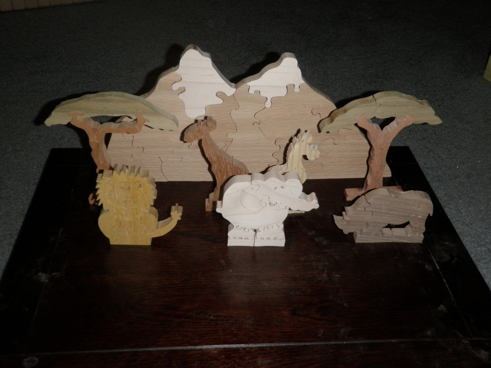 Saw Dust And Splinters One Scroll Saw Project