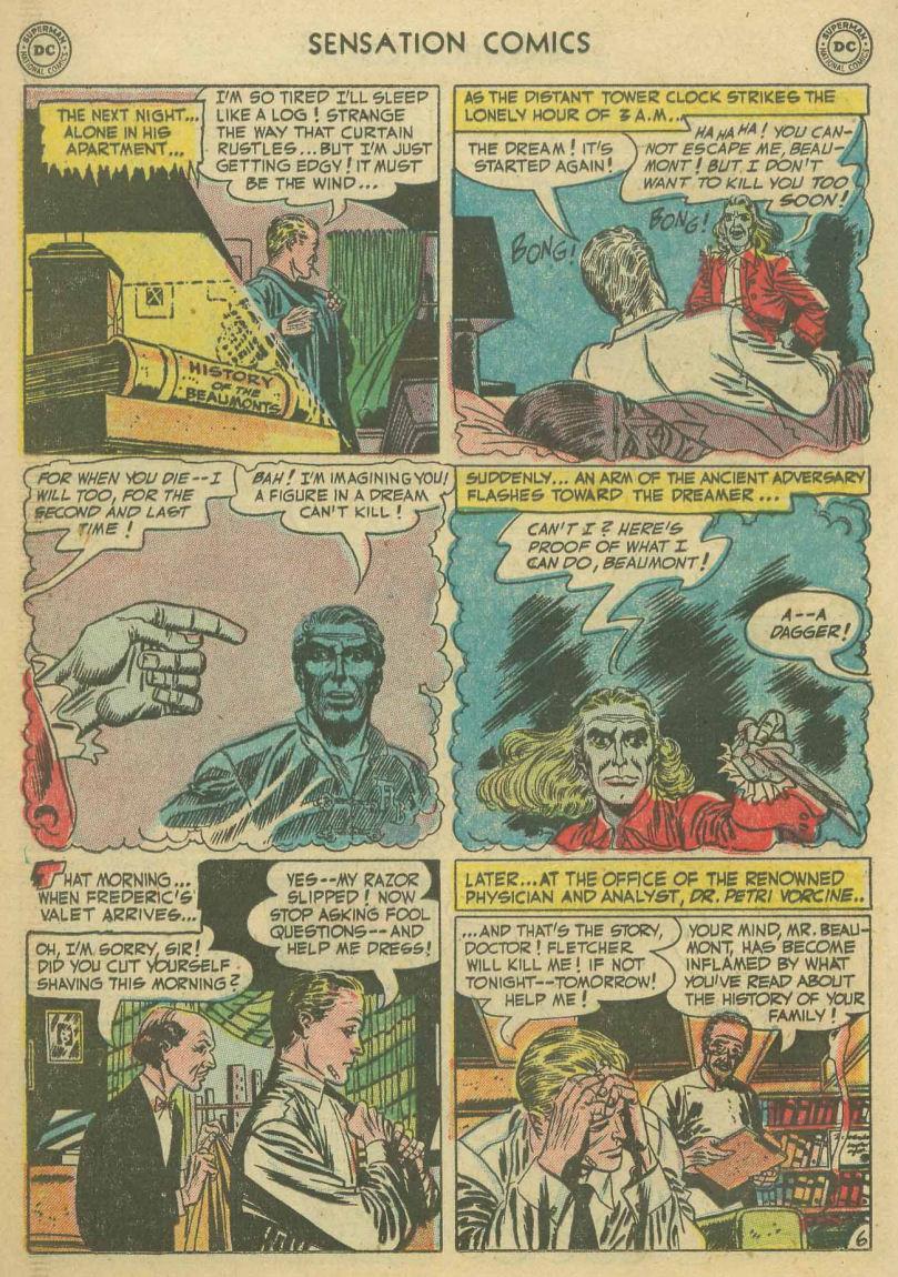 Read online Sensation (Mystery) Comics comic -  Issue #107 - 18