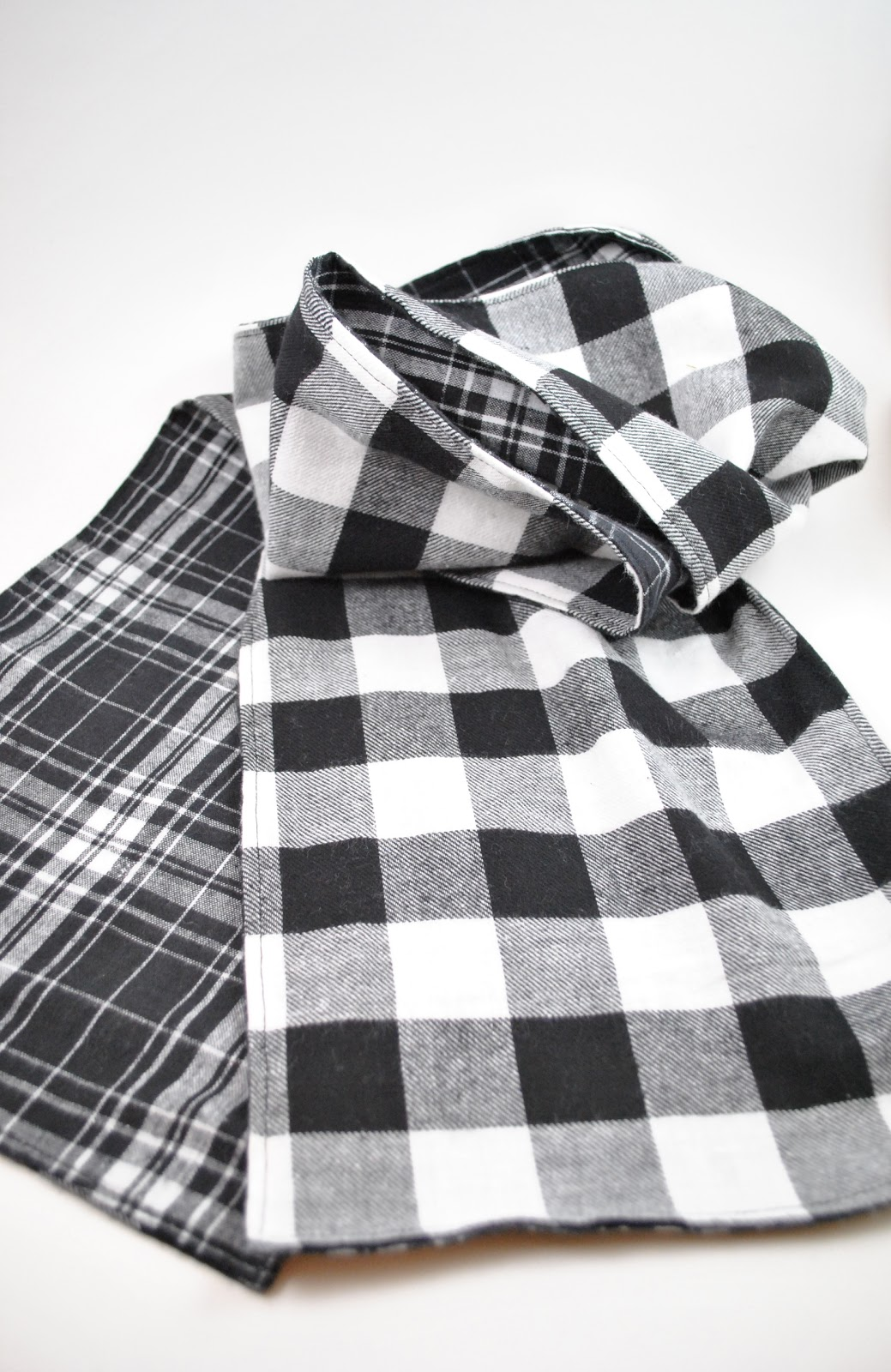 Double Sided Giant Magnetic Human Body Set: Clearlytangled.: Double-sided Flannel Scarf